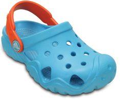 Crocs otroški sandali Swiftwater, modri