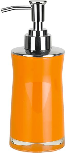 Spirella Dávkovač mýdla SYDNEY ACRYL, orange