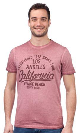 Brave Soul moška majica Batra L roza