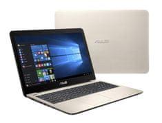 Asus X556UQ-DM789D Notebook, Arany