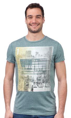 Brave Soul moška majica Staten S zelena