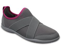 Crocs Buty Swiftwater X-strap Women Grey