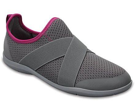 Crocs Swiftwater X-strap Women Grey W6 36-37