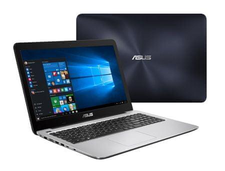Asus X556UQ-DM791D Notebook, Sötétkék