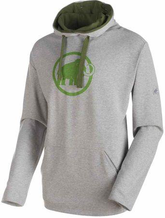 Mammut Logo ML Hoody M granit melange-sherwood M