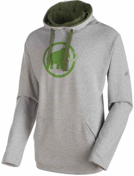 c3fc796794 Mammut Logo ML Hoody M granit melange-sherwood L