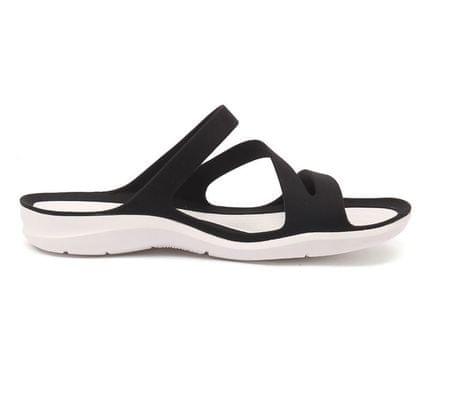 Crocs ženski sandali Swiftwater, črni/beli, 37 - 38