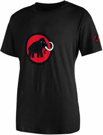Mammut muška majica Logo, crna, S