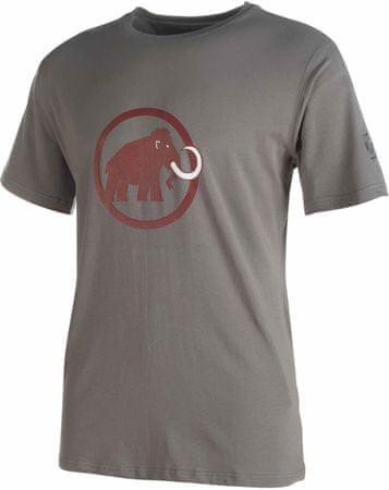 Mammut moška majica Logo Titanium, siva, S