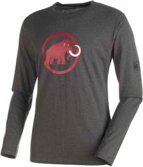 Mammut moška majica Logo Graphic, siva