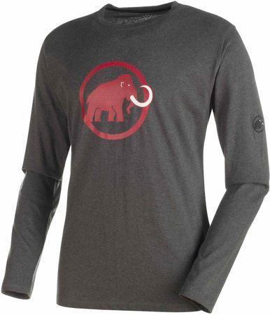 Mammut Logo Longsleeve M graphite melange XL