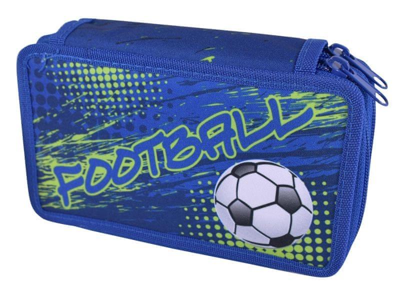 Stil Školní penál dvoupatrový Football 2