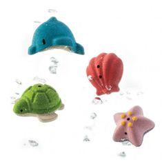Plan Toys Koupelová sada - mořský život