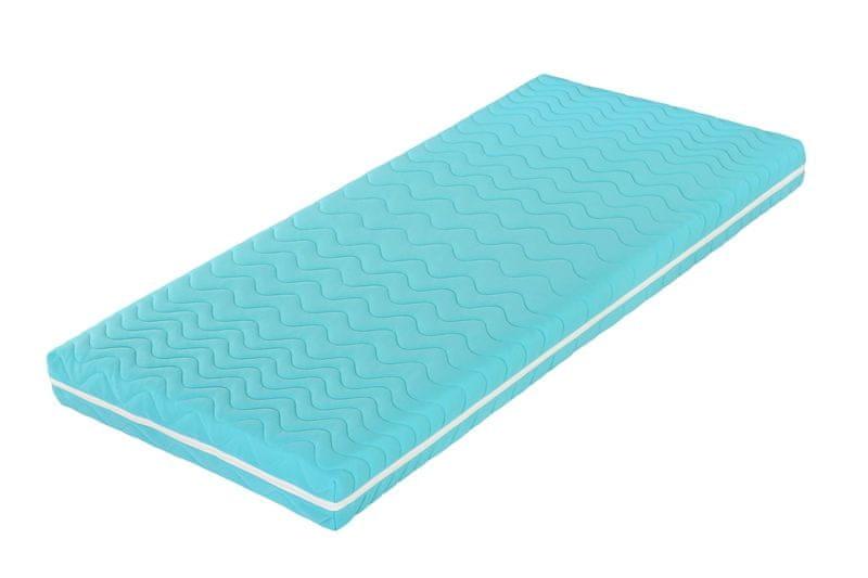 Tropico Šárka Top v potahu COLOR (modrá) - 120x200 cm