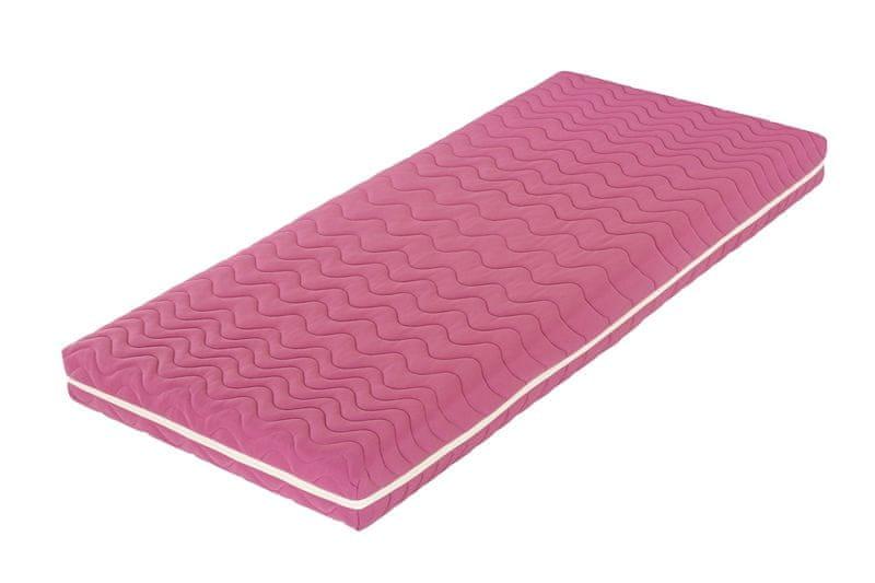 Tropico Šárka Top v potahu COLOR (růžová) - 120x200 cm