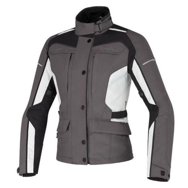 Dainese bunda dámská ZIMA LADY GORE-TEX vel.52 šedá/šedá, textil