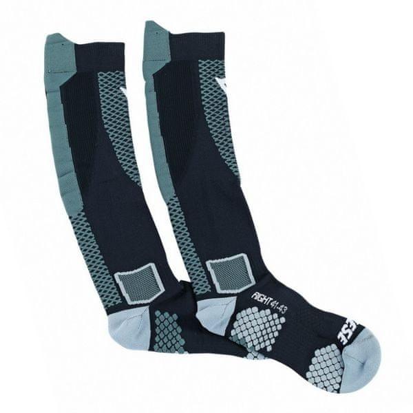 Dainese podkolenky (ponožky) D-CORE vel.M černá/antracit