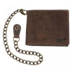 Held peněženka  Biker, hnědá kůže