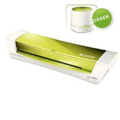 Laminátor Leitz iLAM Home Office A4 metalicky zelený