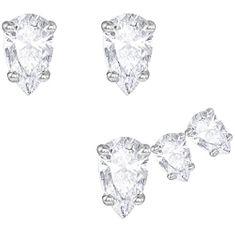 Swarovski Sada náušnic s čirými krystaly 5274076
