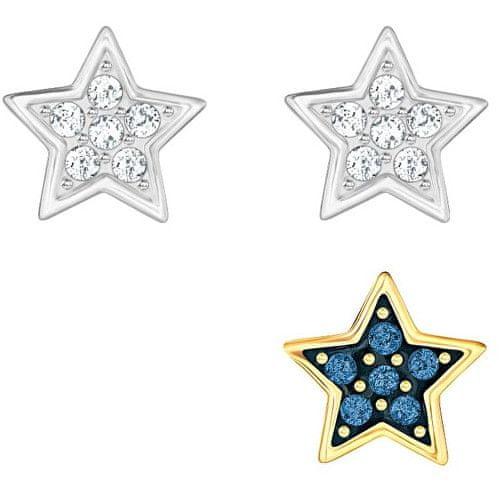 Swarovski Sada hvězdičkových náušnic s krystaly 5276612