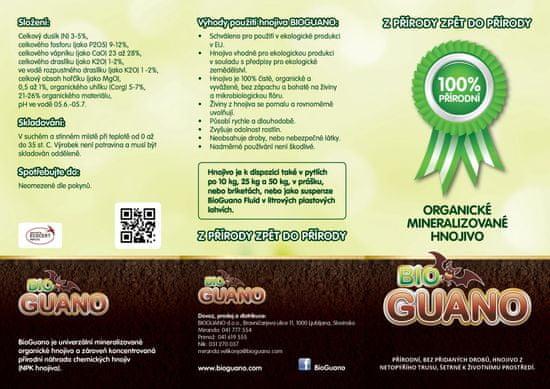 BioGuano Organic 1 kg brikety