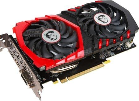 MSI GeForce GTX 1050 Ti GAMING X 4G, 4GB GDDR5 (GTX 1050 Ti GAMING X 4G)