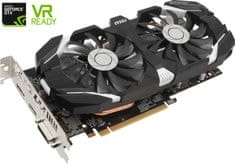 MSI GeForce GTX 1060 3GB OC DDR5 Videókártya