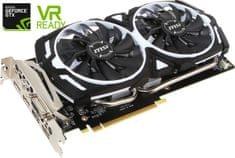 MSI GeForce GTX 1060 ARMOR 6G OCV1, 6GB GDDR5 (GTX 1060 ARMOR 6G OCV1)