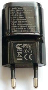 LG Nabíječka (MCS-04ER), černá