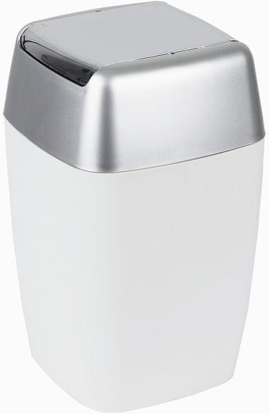 Spirella Odpadkový koš RETRO, white