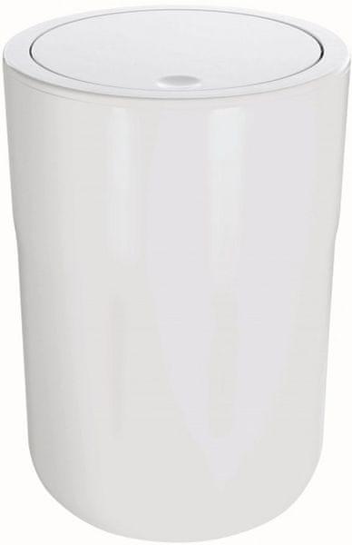 Spirella Odpadkový koš COCCO white 5l