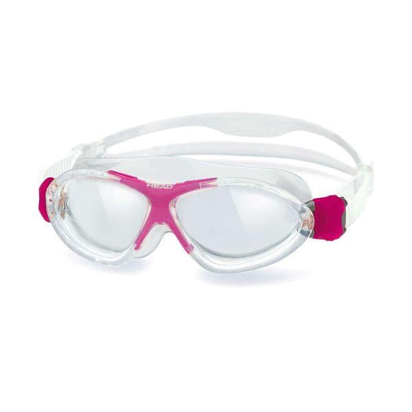 Head Brýle plavecké MONSTER junior, Head, trans/růžová