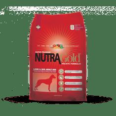 Nutra Gold hrana za odrasle pse, jagnjetin in riž, 15kg