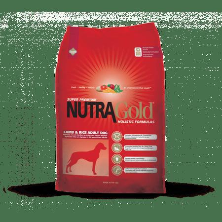Nutra Gold hrana za odrasle pse, jagnjetina in riž, 3kg