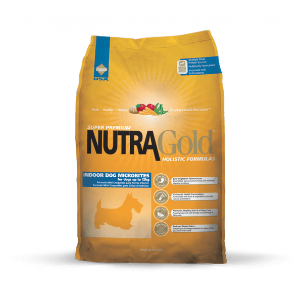 Nutra Gold Indoor Adult Dog - MB 3kg