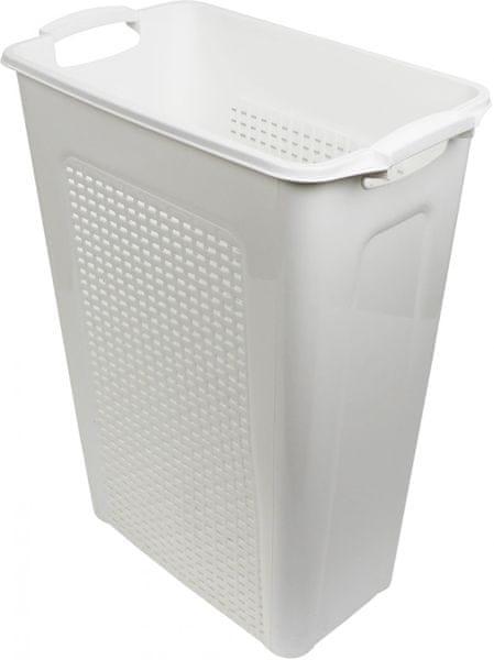 Heidrun Koš na špinavé prádlo 45 l, bílá