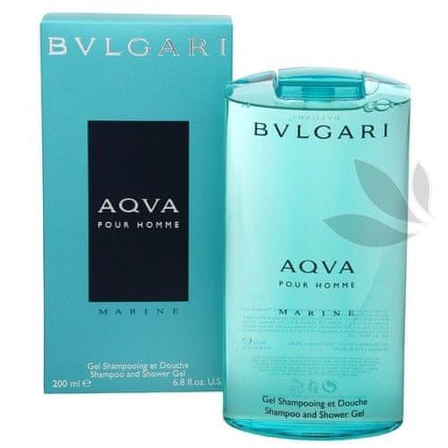 Bvlgari Aqva Pour Homme Marine - sprchový gel 200 ml