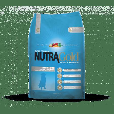 Nutra Gold hrana za starejše pse, 15 kg - Odprta emblaža