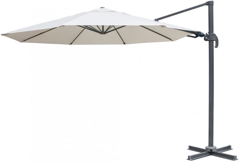 Myard Verona - boční slunečník 3,5 m, béžový