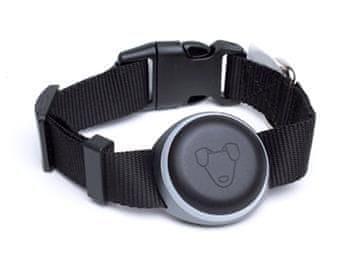 Mishiko Premium GPS a fitness obojek pro sledování pro vašeho miláčka, černý