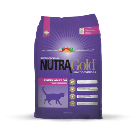 Nutra Gold sucha karma dla kota Finicky Cat 3kg