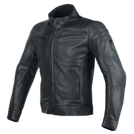 Dainese pánska kožená moto bunda  BRYAN vel.56 čierna