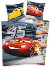 Herding Svítící Povlečení Cars 3 Bavlna 140x200 70x90
