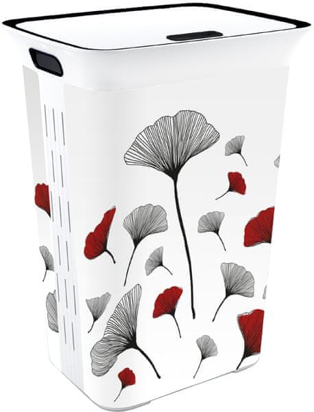 Kis Koš na prádlo Chic Hamper Japan Gingko 60 l