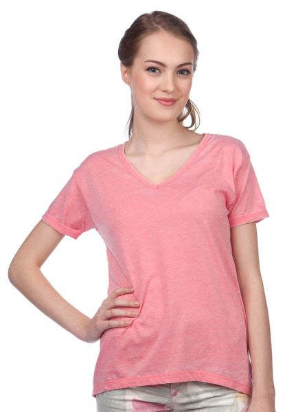 Brave Soul dámské tričko Viv XS červená