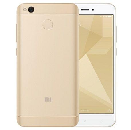 Xiaomi Redmi 4X, 3GB/32GB, Dual SIM, CZ LTE, zlatý