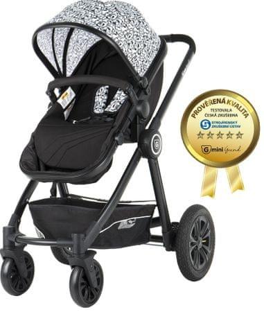 G-mini Kombinovaný kočík Grand, Picasso/čierna