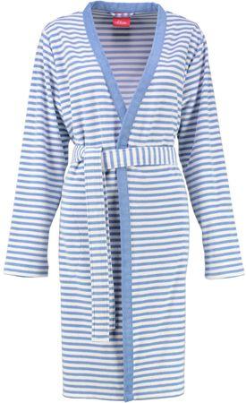 s.Oliver csíkos fürdőköpeny 3112 kék kék S - Hasonló termékek  42cd318b72