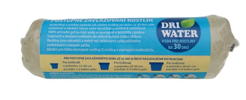 DRI WATER Gel (16x5x5 cm) - 200 g